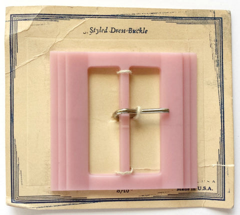Casein pink buckle - Accessories Of Old