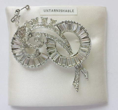 Vintage Crystal Brooch- SOLD