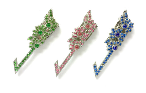 Rhinestone dress clip - Accessories Of Old