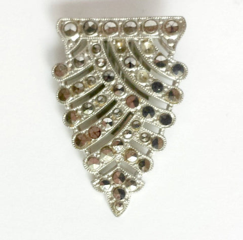 Czech 1950's dress clip - Accessories Of Old