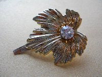 Leaf shaped hair slide - Accessories Of Old