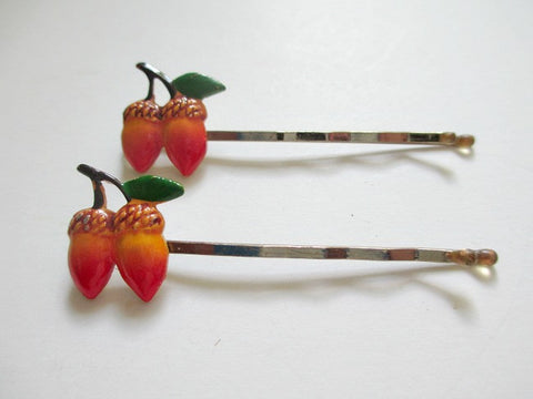 1960s bobby pins. Single pair acorn. Sold by the pair. $4.00 - Accessories Of Old