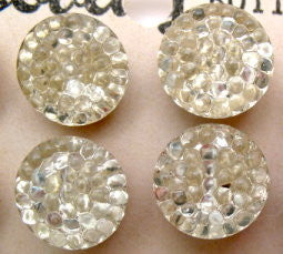 Glass Chandelier button - Accessories Of Old