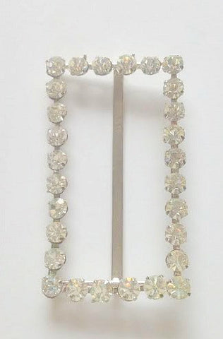 Diamante 1940s buckle - Accessories Of Old