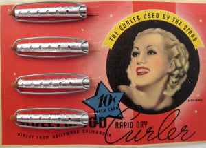 Betty Grable wave curlers - Accessories Of Old