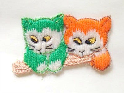 1950's Kitten motif - Accessories Of Old