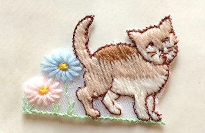 Kitty cat motif - Accessories Of Old