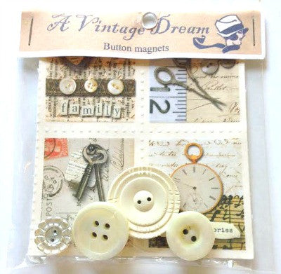 Vintage button magnets - Accessories Of Old