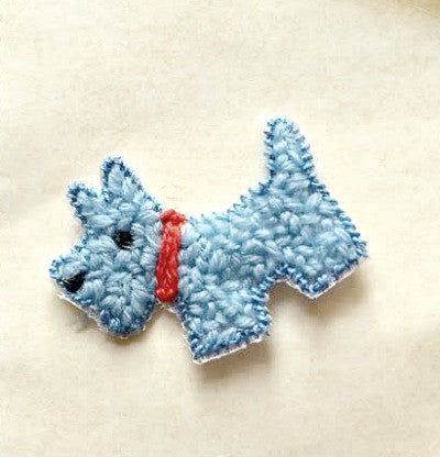 Scottie dog vintage motifs