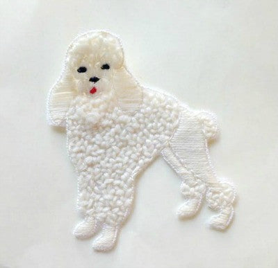 1950's Swiss made poodle dog motif - Accessories Of Old