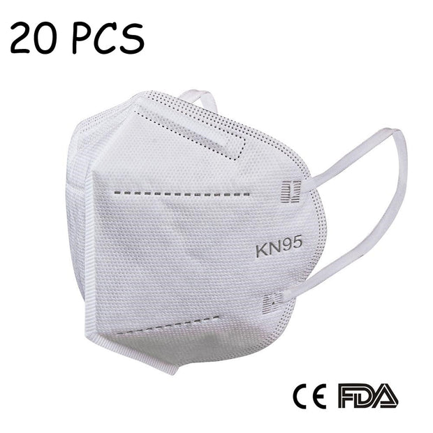 KN95 Disposable Face Masks (5 layers) with FDA and CE Approval