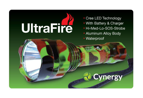 Ultra Fire Flashlight 500 Lumens