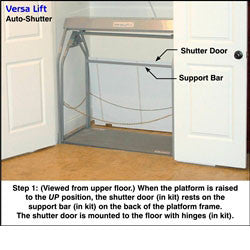 Versalift Auto Shutter Door for Model 24