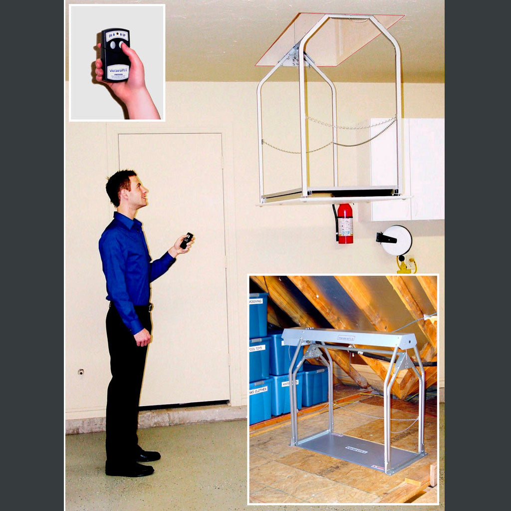 Versalift 24W Wireless Remote Attic Lift for 8-11'