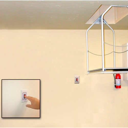 Versalift 24 MH  In Wall Switch Attic Lift for 11-14'