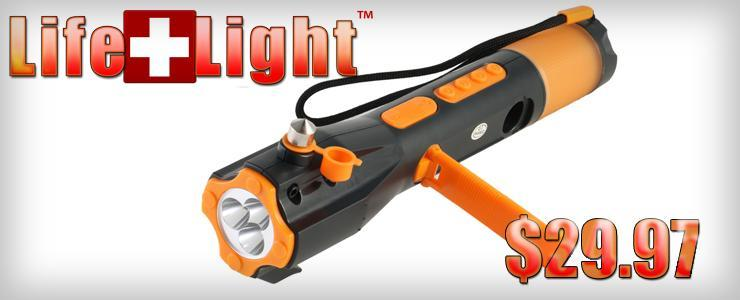 Lifelight Emergency Crank Flashlight
