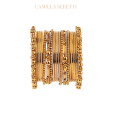 Load image into Gallery viewer, The Bali Bangles, Gold