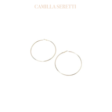 Load image into Gallery viewer, Gold Classic Hoop Earrings