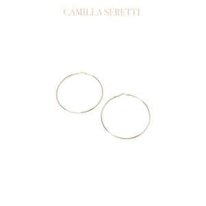 Gold Classic Hoop Earrings