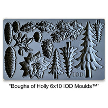 "Load image into Gallery viewer, Boughs of Holly IOD Mould (6"" x 10"")"
