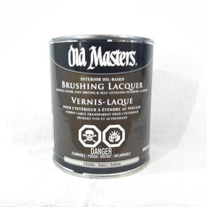 Satin Brushing Lacquer
