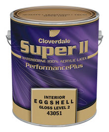 Super II Eggshell White base