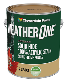 WeatherOne SolidHide 100% Acrylic Stain - Neutral Base