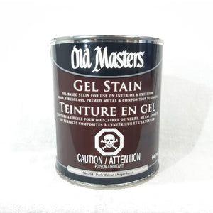 Old Masters Gel Stain - Dark Walnut 946mL