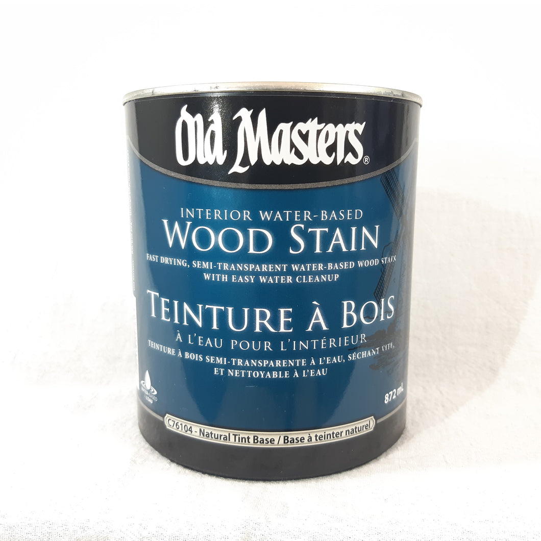 Natural Tint Base Interior Water-Based Wood Stain