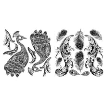 Load image into Gallery viewer, Pavo Decor Stamp (2 pc set)