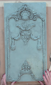 """CLASSIC ELEMENTS"" IOD DECOR MOULD 6"" X 10"""