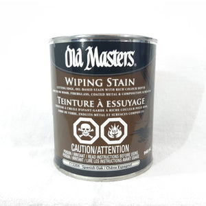 Old Masters Wiping Stain - Spanish Oak 946mL