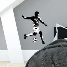 Load image into Gallery viewer, Soccer Player Giant wall Decal