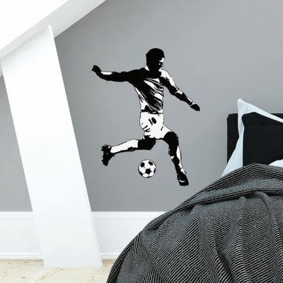 Soccer Player Giant wall Decal