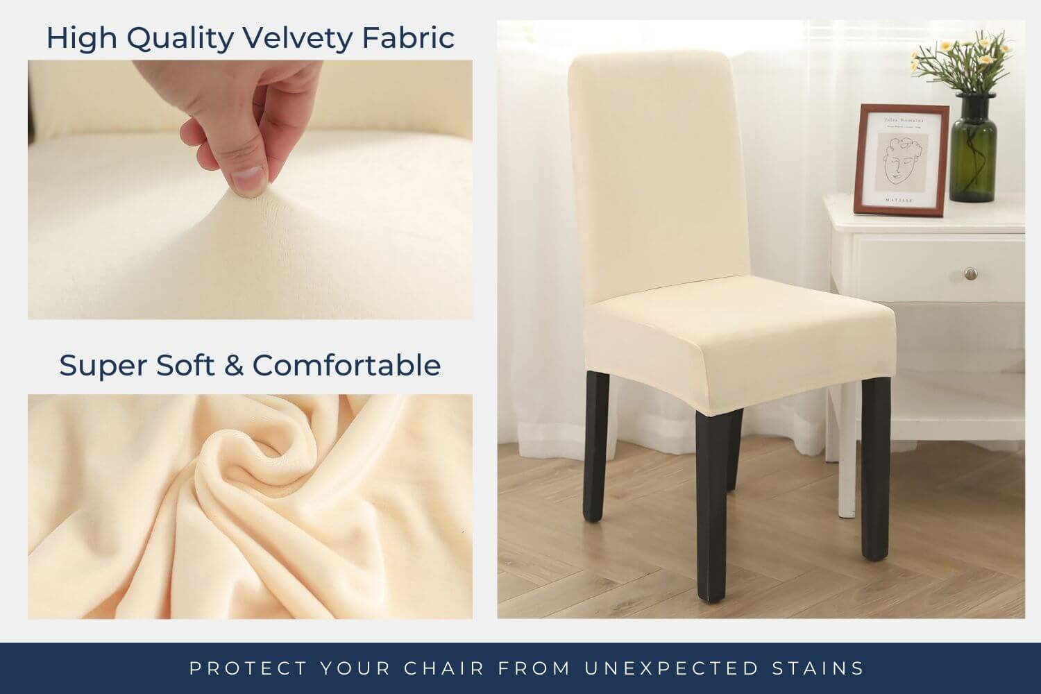 Protect your chair from unexpected stains