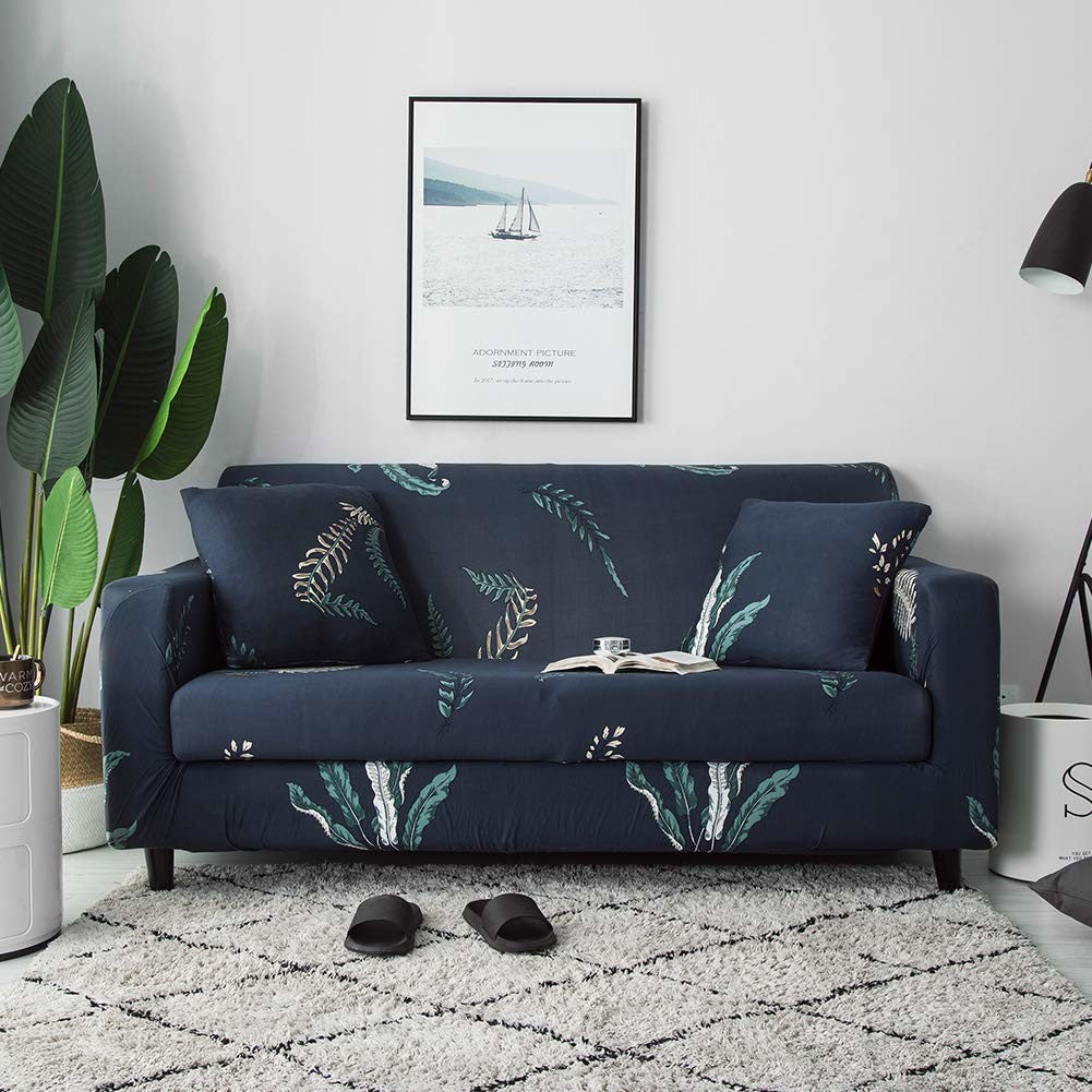 Seaweed Stretch Sofa Slipcover | 1-4 Seats
