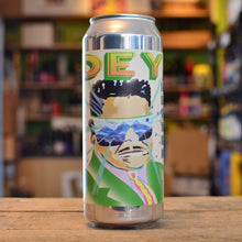 Load image into Gallery viewer, Deya I Am Locked Away in a High-Tech Wraparound Translucent, Blue Tinted Fortress Sour IPA