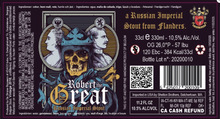 Load image into Gallery viewer, Struise Robert the Great | 10.5% | 330ml