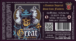 Struise Robert the Great | 10.5% | 330ml