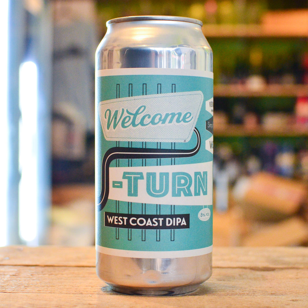 Verdant Welcome U-Turn | 8% | 440ml