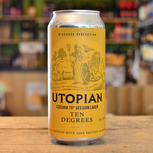 Utopian Czechia 10° Session Lager | 3.9% | 440ml