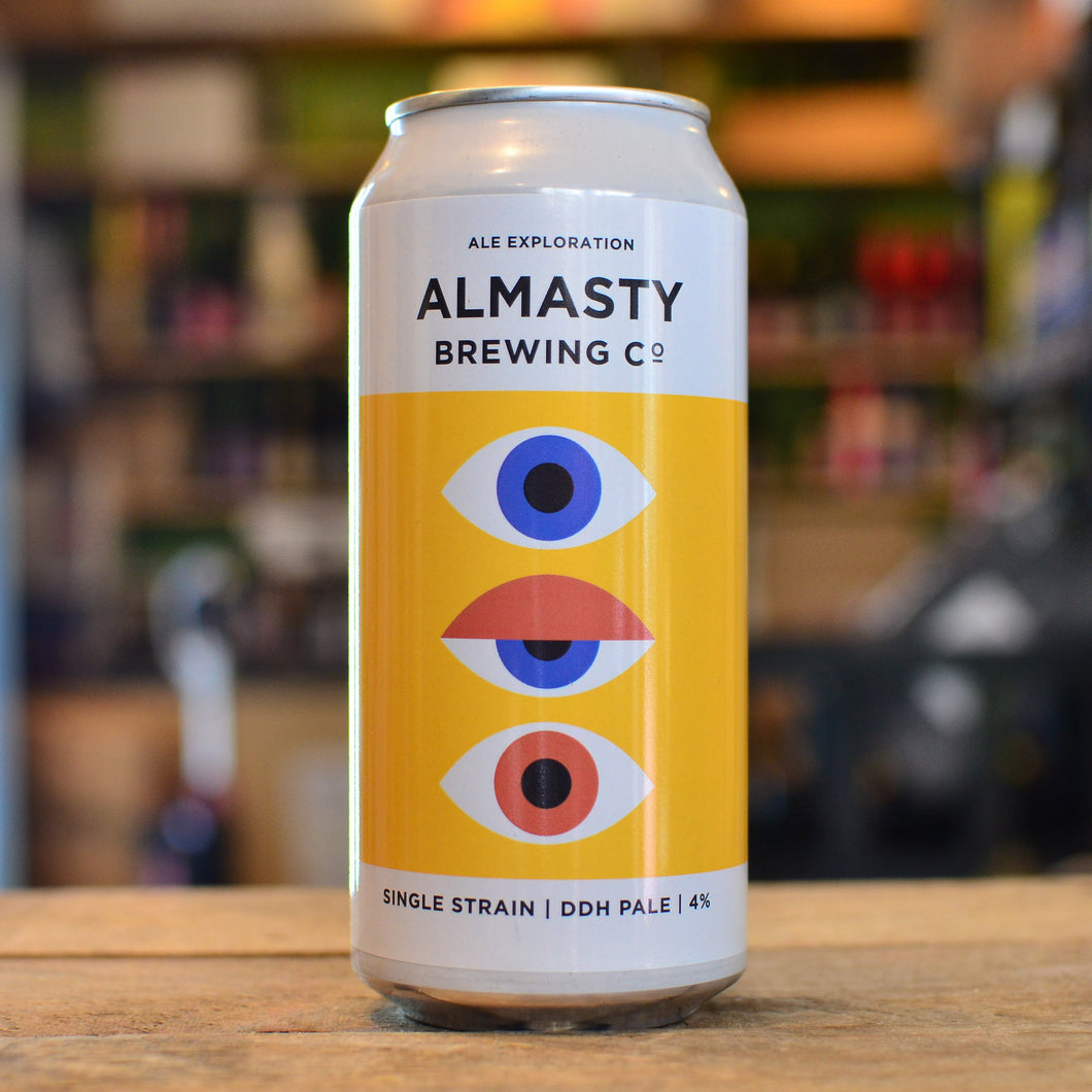 Almasty Single Strain DDH Pale | 4% | 440ml