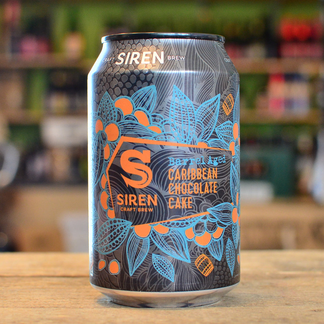 Siren Barrel Aged Caribbean Chocolate Cake 2020 | 8.8% | 330ml