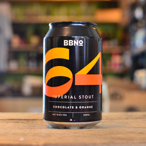 Brew By Numbers 64 Imperial Stout: Chocolate Orange | 10% | 330ml