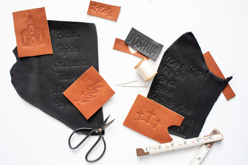 Embossed Leather Bible Covers