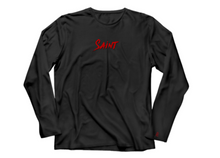 "Load image into Gallery viewer, Long Sleeve ""Saint"" Tee"