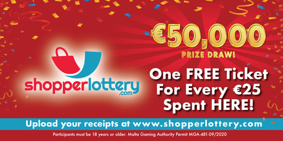 ShopperLottery - Upload your receipts here