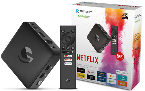 EMATIC Android TV OTT Box SRT 202