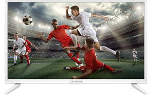 "Strong 24"" HD LED TV WHITE"