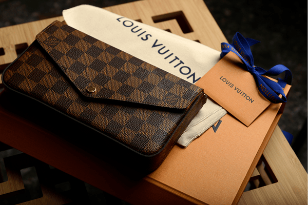 Louis Vuitton Wallet Damier Ebene Canvas